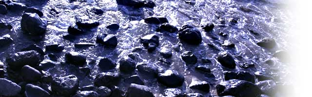 As the waters touched these rocks, my rock-filled heart was softened by the waters of truth and compassion.